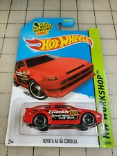 Hot Wheels Toyota AE-86 Corolla Red Greddy HW Workshop 239/250
