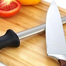 """Diamond Knife Sharpening Steel Knife Sharpener Rod Stick for Butcher Chefs 12"""""""