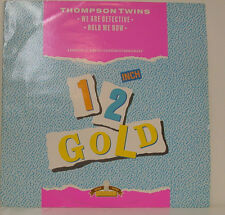 """THOMPSON TWINS - WE ARE DETECTIVE / HOLD ME NOW 12"""" MAXI SINGLE (g41)"""