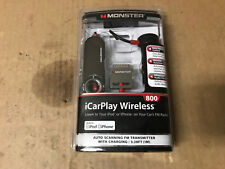 Monster Cable iCarplay 800 FM Transmitter & Charger for iPod, iPhone 3G/3GS 4/4S