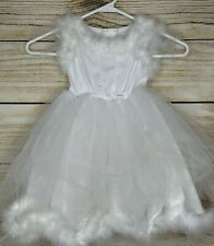 Pottery Barn Kids White Fairy Angel Princess Sparkle Halloween Costume Size 3T