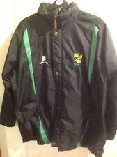Norwich City Football Coat/jacket  large , Aviva