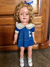 """VINTAGE 1930'S IDEAL MARKED 13""""  SHIRLEY TEMPLE DOLL"""