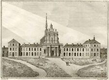 Chartreuse Aubevoye Gaillon - Millin Gravure originale XVIIIe