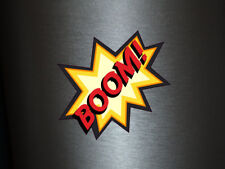 1 x adhesivo boom! Bang Boom Pang hechizo cómic sticker tuning decal Fun gag