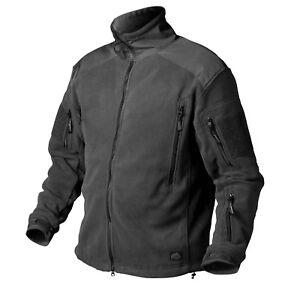 Helikon-Tex Liberty Heavy Fleece Jacket Army Police Outdoor Jacket Black