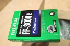 1 Sealed Pack of Fujifilm Fuji FP-3000B Instant Black & White Pack Film 2013-09