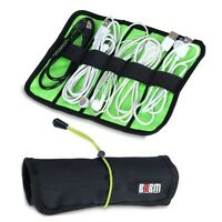 New Portable Storage Organizer Bag Case Holder For USB Cable Earphone Power cord