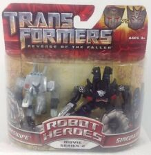 Transformers 2 Revenge of the Fallen Robot Heroes Action Figures - Sideswipe