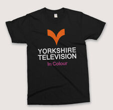 Retro YORKSHIRE TELEVISION T SHIRT Vintage British TV Broadcaster