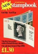 POST OFFICE PUBLICITY CARD FOR £1.30 BOOKLET