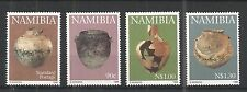 NAMIBIA 1996 EARLY POTTERY SG,697-700 UN/MM NH LOT 1202A