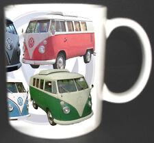 VW CAMPER VAN CLASSIC CAR MUG. LIMITED EDITION TOP GIFT TOURING CAMPING