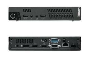 Lenovo ThinkCentre M72e Tiny Intel i3 3220T 2.80Ghz8G Ram 128Gb SSD Win10Pro