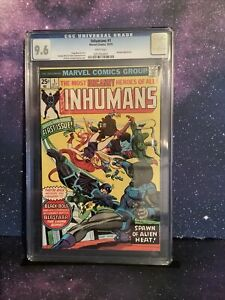 Inhumans #1 CGC White 9.6 Blastaar George Perez Gil Cane Marvel Comic Black Bolt