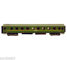 Railway Train PASSENGER SLEEPING CAR USSR HO Scale 1/87 Model Kit Cardboard