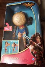 DC Comics Wonder Woman Movie Figure Shield Block Gal Gadot Doll.