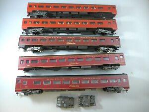 HO Rivarossi Norfolk & Western Passenger 6 Cars