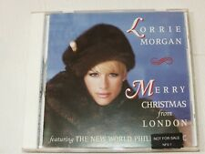 Merry Christmas from London by Lorrie Morgan CD Sep-2003 BMG Music