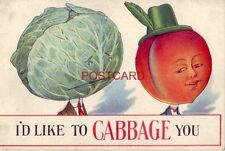 """I'D LIKE TO """"CABBAGE"""" YOU"""