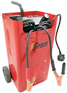 SPARK Car Battery Charger Heavy Duty 12V 24V Trickle  Fast Vehicle HGV Lorry