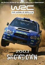 World Rally Championship - Official review 2003 (New DVD) FIA WRC Loeb Solberg