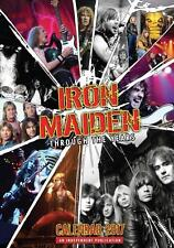 IRON MAIDEN 2017 Calendar by Dream,  new and sealed