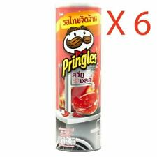 New Limited Original Thai Sweet Chili Pringles Potato Crisps Chips Halal 6-Pack