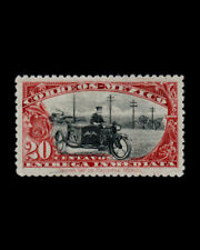 Vintage: Mexico 1919 S Del Motorcycle Moghr Scott # E1 $ 70 Lot # Mxe111-C11