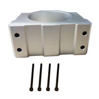Dia.80mm Spindle Clamp Motor Mount Holder Bracket for CNC Engraving Machine