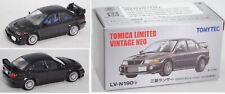 TOMICA LIMITED / TOMYTEC LV-N190b Mitsubishi Lancer GSR Evo pyrenees black 1:64