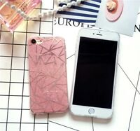 Case For iPhone 7/8 Glitter Powder Pink Cover/ Capa