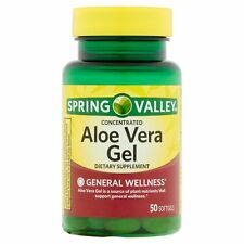 Spring Valley Aloe Vera Softgels, 25mg, 50 Count