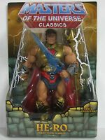 HE-RO SDCC HE-MAN MASTERS OF THE UNIVERSE CLASSICS MOTUC FIGUR MATTEL