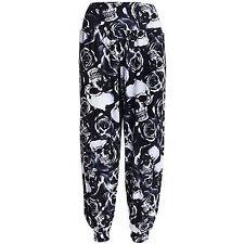 Ali Baba Hareem Harem Plain Leopard Animal Aztec Tie Dye Print Trousers Pants