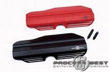 PROCESS WEST Engine Pulley Garnish for Subaru 02-14 WRX & 02-16 STI-Red