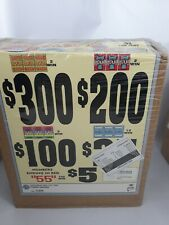 GRAND BABIES  PULL TAB TICKETS - 2,456  COUNT @ $ 1.00