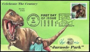 PUGH Hand Painted, Airbrushed: 2000 Dinosaurs @ Jurassic Park w/900+ word Insert
