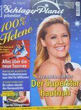 HELENE FISCHER - Zeitschrift Schlager Planet 01/2017 - Konzert Tour 2018 Fotos