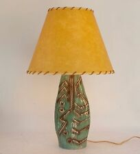RETRO VINTAGE MID CENTURY CERAMIC POTTERY TABLE LAMP