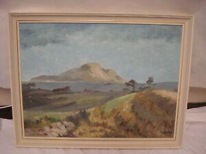 SAM CHADWICK (1902-1992) Oil Painting Seascape North Yorkshire Coast