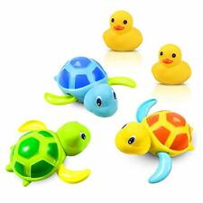 Yojoloin Bath Toys Baby Bathing Clockwork Turtle Swimming Pool Toy-3 Clours and