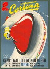 SPORT. Campionati del mondo di BOB. Cortina 1960.