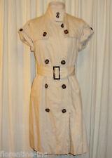 BEAUTIFUL ZARA WOMAN TRENCHCOAT DRESS w/belt AUS 10/12
