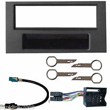 FORD FOCUS C-MAX 2003 to 2010 BLACK SINGLE DIN FASCIA FACIA FITTING PACKAGE KIT