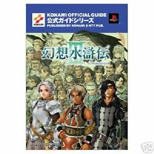 Genso Suikoden 3 KONAMI OFFICIAL GUIDE Book Japan PS2 SUIKODEN