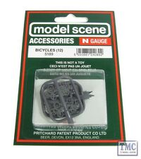 5189 Modelscene N Gauge Bicycles Pack of 12