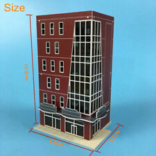 Outland Models Railway Scenery Layout Modern Office Building Brown 1:160 N Scale