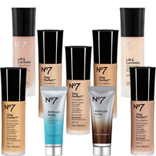 No 7 Airbrush,Stay Perfect & Lift Primer & Foundation Variety