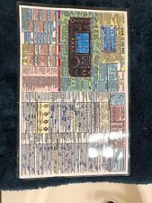 "ICOM IC-746Pro DATACHART 11 1/2"" X 7 3/4"". All-In-One Handy Graphic!"